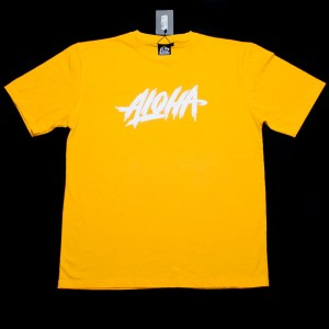 KOSZULKA ALOHA ENT. RUGGED KOLOR YELLOW + GRATIS